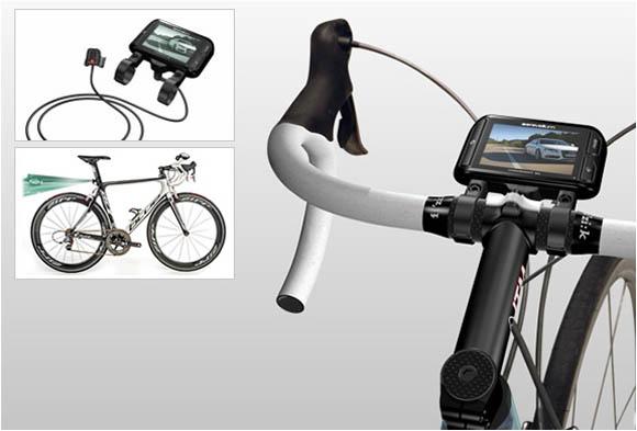 モニター型自転車用ミラー