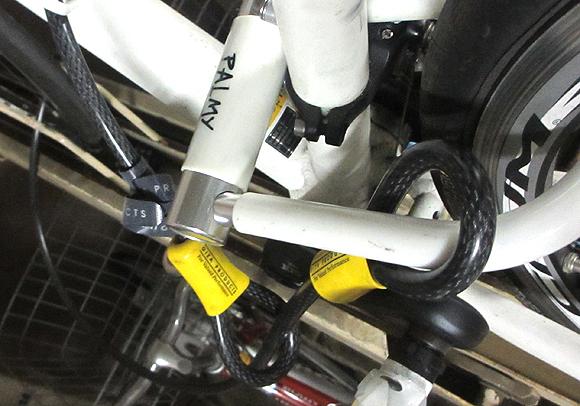 スポーツバイクの盗難防止用のロックは鍵式とナンバー式の使い分け
