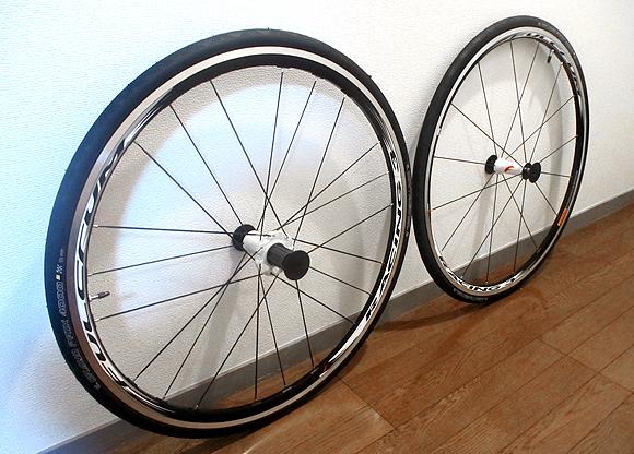 クロスバイクのタイヤを28Cから23C化して細くしてみた