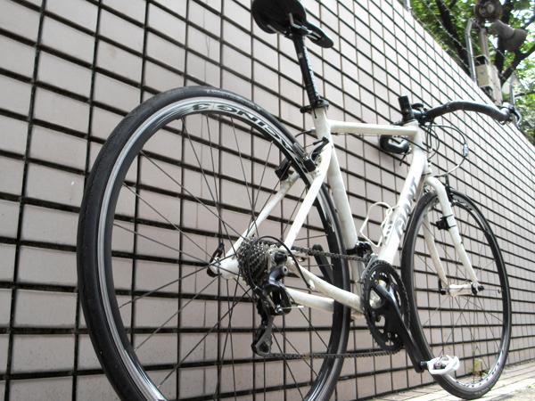 奥さんを自転車仲間にする