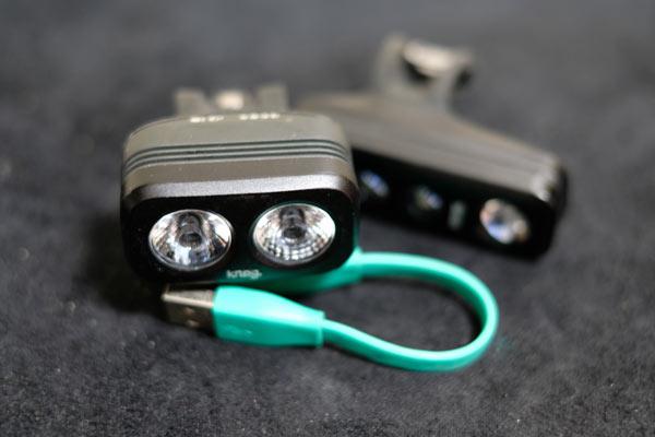 充電池式の自転車ライト