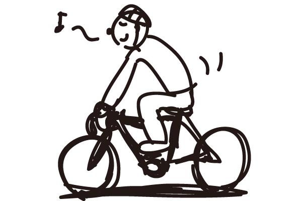 クロスバイクやロードバイクの準備運動
