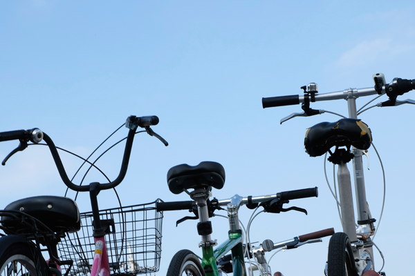 駐輪場上段は自転車が盗難されづらい