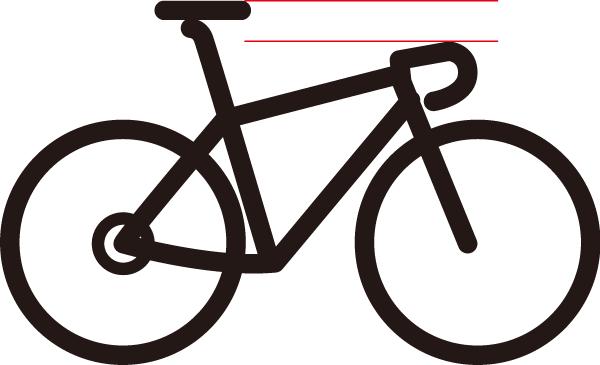 ロードバイクのサドルの高さ