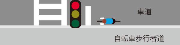 自転車信号無視問題で交差点でなくても信号は守ろう