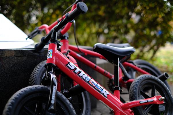 補助輪は自転車に馴れるためのもの