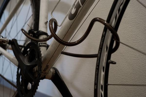 Teyimo ナンバー式自転車ワイヤーロック
