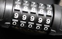 自転車のダイヤルロックの暗証番号について思うこと