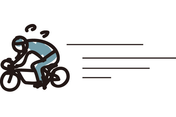 自転車の最高速度
