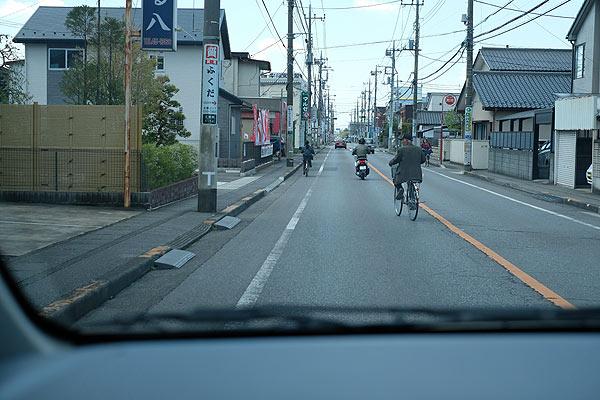自転車乗車中の事故の内容