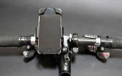 スマートフォンをサイコンにするのに必須のスマフォホルダー