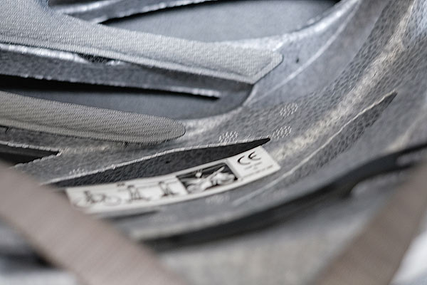 ヘルメット安全基準CEマーク