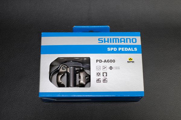 シマノの最軽量片面SPDペダルPD-A600