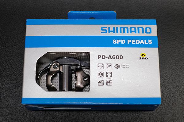 シマノの片面SPDペダルのPD-A600
