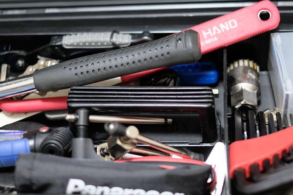 自転車メンテナンスでよく使う必須工具まとめ