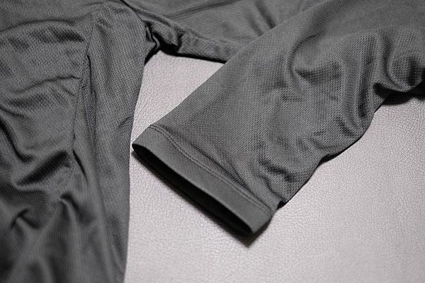 格安サイクルジャージの袖口