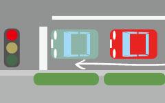 自転車は信号待ちで車列をすり抜けて前に出て良いの?