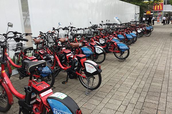 日本のシェアバイク