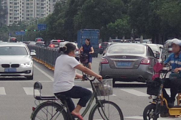 自転車の交通マナー