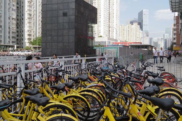 自転車の無い街は美しい
