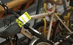 放置自転車や路上駐輪をやめて駐輪場に駐輪しよう