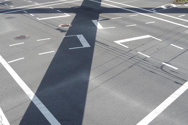 交差点での自転車の交通事故