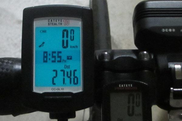 GPS付きサイクルコンピューターと精度