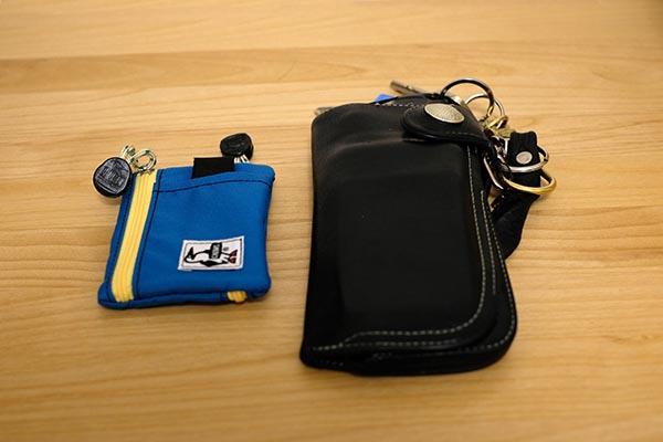 日常でも自転車でも使える財布を探したい