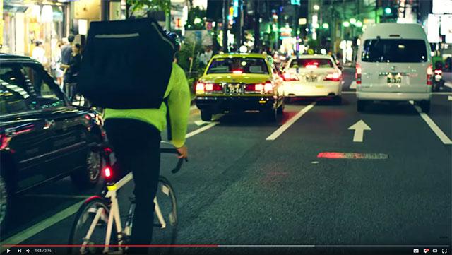 Uber Eats交通マナー