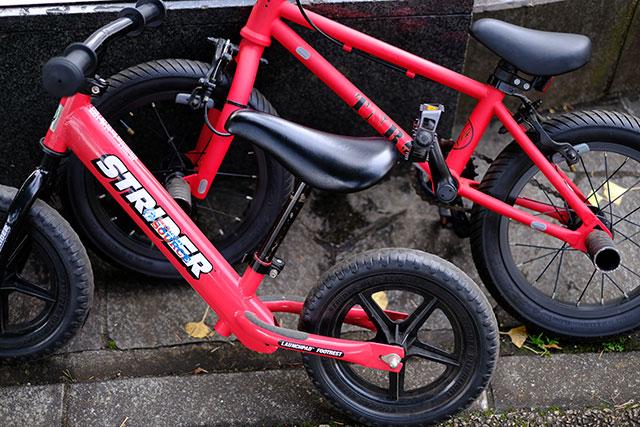 子供用自転車のタイヤサイズと適正身長の目安