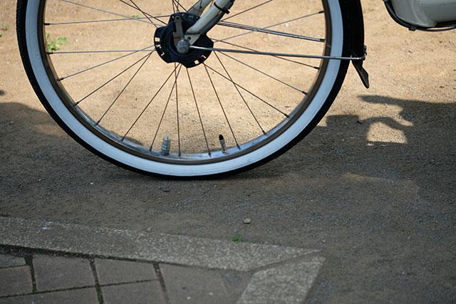 季節と自転車のタイヤの空気圧