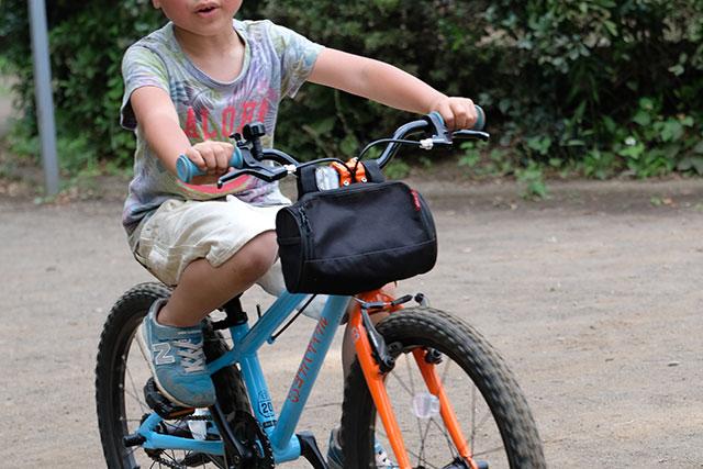 自転車用フロントバッグの感想