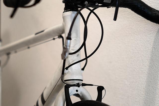 クロスバイクのフォークをカーボンフォークに交換する基本手順