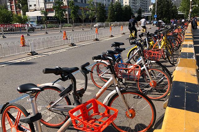 中国シェアサイクル