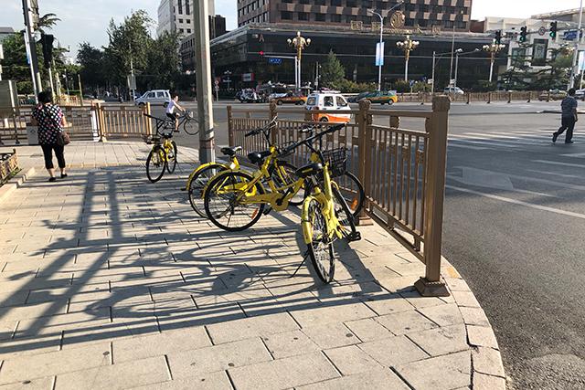 北京のシェアサイクル