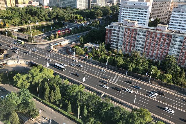 北京の道路状況