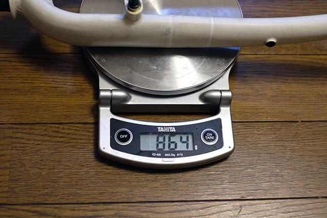 フォークの重量