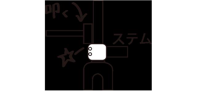 クラウンレース圧入方法