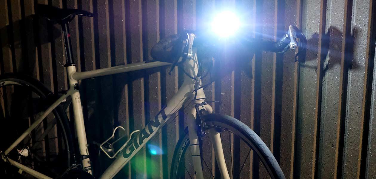 自転車用ライトの明るさやおすすめライト情報など