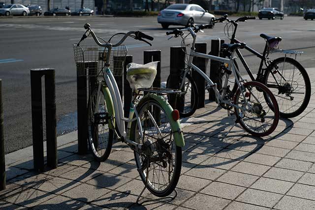 クロスバイクは盗難に対してそれほど不安にならなくて良い