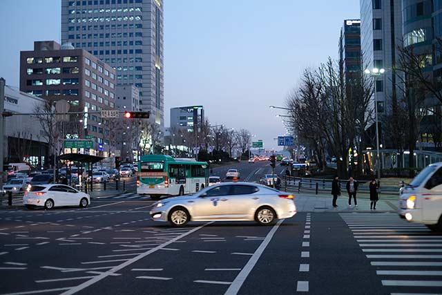 日本の街並みと似ている韓国の町並み