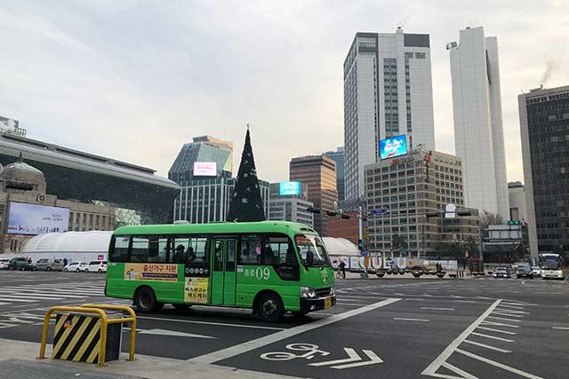 市庁(シチョン)周辺