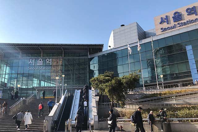 ソウル駅周辺
