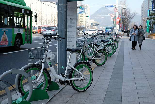 韓国のシェアサイクル