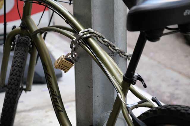 クロスバイクは盗まれづらい?