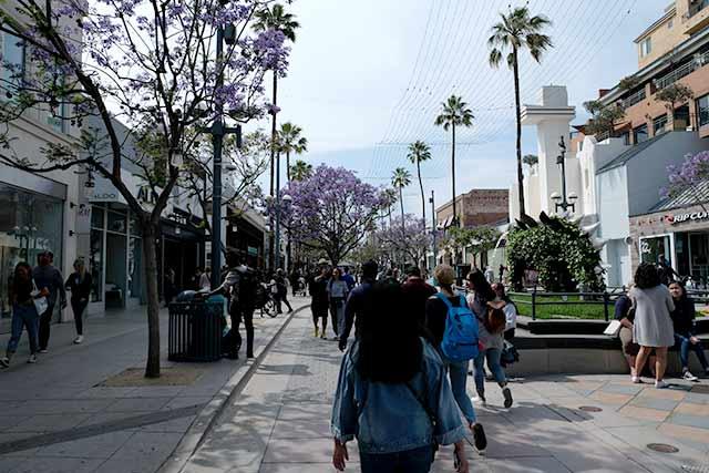 サンタモニカの自転車事情 ストリート