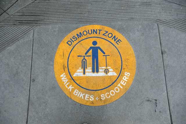自転車に乗らない