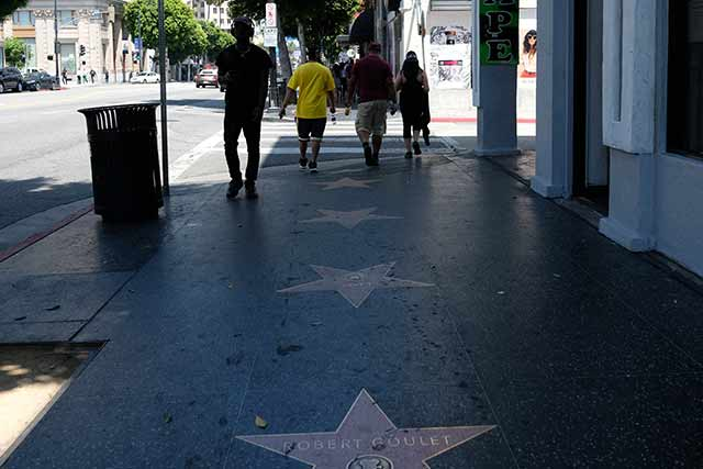 映画産業のメッカハリウッド