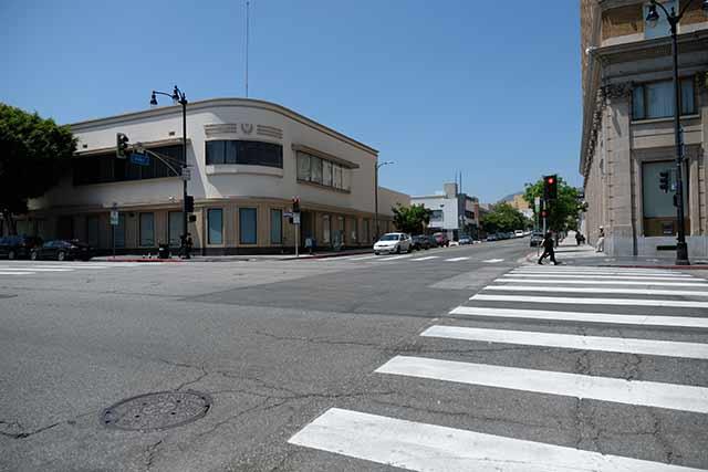 ハリウッド周辺は自転車も少ない