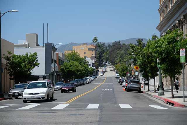 ハリウッドは自転車が少ない